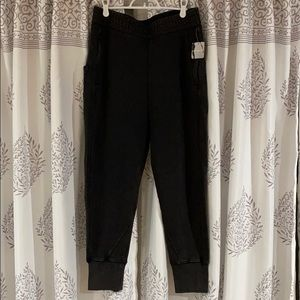 Free People Vintage Black Joggers